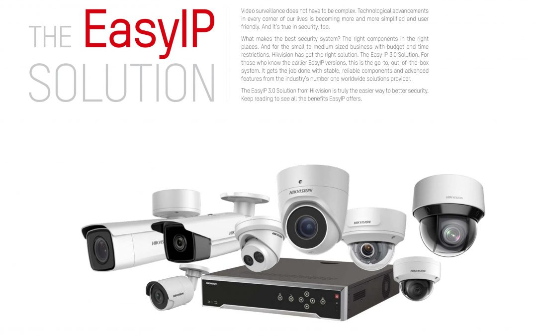 Hikvision is the world's leading provider of innovative video surveillance products and solutions and they are our manufacturer of choice