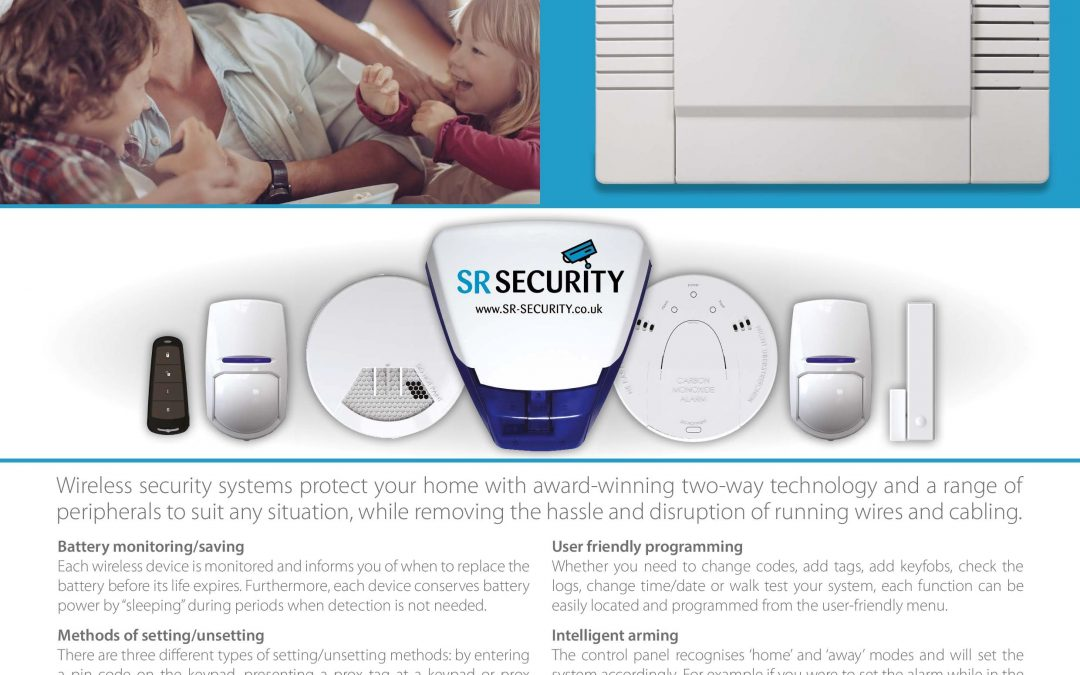 S R Security working with Pyronix to offer our customers their award winning wireless Enforcer intruder alarm systems